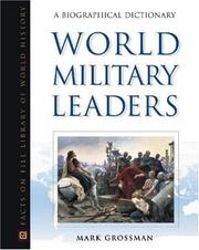 Cover of: World Military Leaders