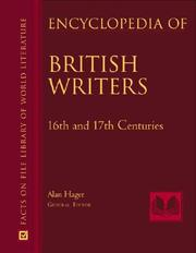 Cover of: Encyclopedia of British Writers | Alan Hager