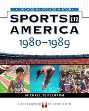 Cover of: Sports In America: 1980 To 1989 (Sports in America)
