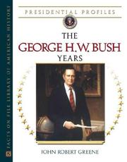 Cover of: The George H.W. Bush years