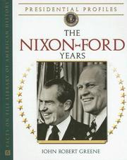 Cover of: The Nixon-Ford years
