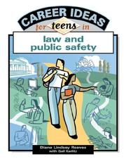 Cover of: Career Ideas For Teens In Law And Public Safety (Career Ideas for Teens)