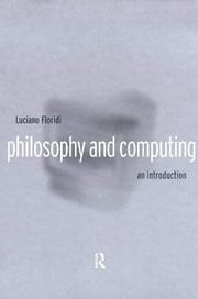 Cover of: Philosophy and Computing