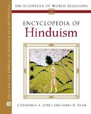 Cover of: Encyclopedia Of Hinduism (Encyclopedia of World Religions) | Constance A. Jones, James D. Ryan