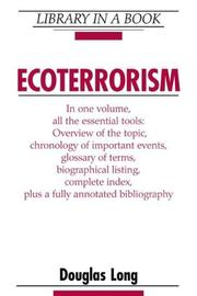 Cover of: Ecoterrorism (Library in a Book)