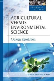 Cover of: Agricultural versus environmental science