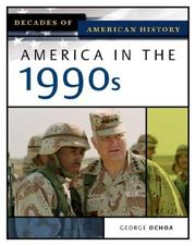 Cover of: America in the 1990s