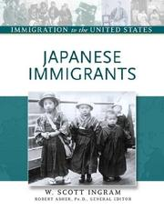 Cover of: Japanese immigrants