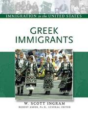 Cover of: Greek immigrants