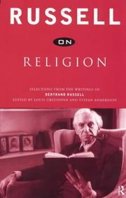 Cover of: Russell on Religion
