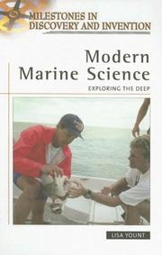 Cover of: Modern marine science by