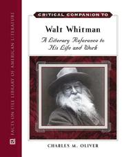 Cover of: Critical companion to Walt Whitman