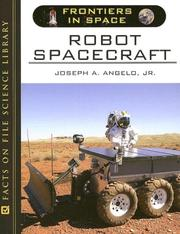 Cover of: Robot Spacecraft (Frontiers in Space)