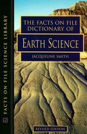 Cover of: The Facts on File Dictionary of Earth Science (Science Dictionary)