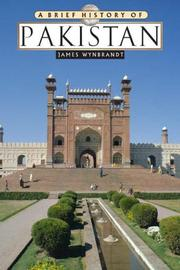Cover of: A Brief History of Pakistan (Brief History) | James Wynbrandt