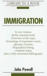 Cover of: Immigration (Library in a Book) | John Powell