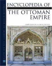 Cover of: Encyclopedia of the Ottoman Empire | Gabor Agoston, Bruce Masters
