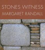 Cover of: Stones witness