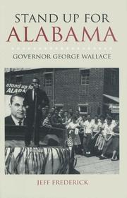 Cover of: Stand Up for Alabama | Jeffrey Frederick
