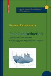 Cover of: Fuchsian Reduction