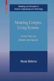Cover of: Modeling Complex Living Systems
