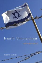 Cover of: Israel's Unilateralism