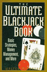 Cover of: The Ultimate Blackjack Book