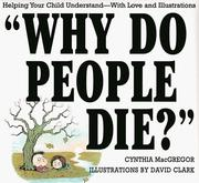 Cover of: Why do people die?