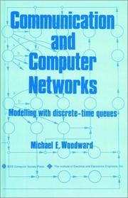 Cover of: Communication and Computer Networks | Michael E. Woodward