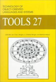 Cover of: Technology of Object-Oriented Languages and Systems, Tools-27