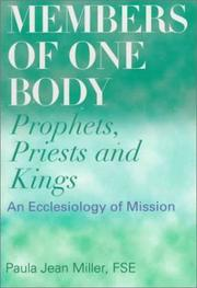 Cover of: Members of one body