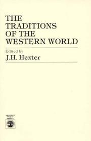 Cover of: The Traditions of the Western World