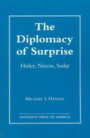 Cover of: The Diplomacy of Surprise