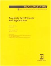 Terahertz Spectroscopy and Applications by