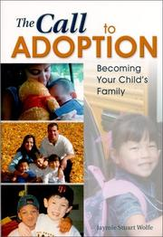 Cover of: The Call to Adoption