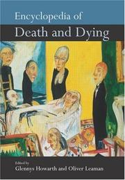 Cover of: Encyclopedia of Death and Dying