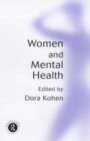 Cover of: Women and Mental Health