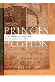 Cover of: Princes of Cotton | Stephen Berry