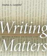 Cover of: Writing Matters