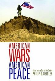 Cover of: American Wars, American Peace