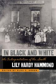 In black and white by Lily Hardy Hammond