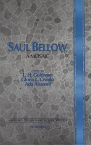 Cover of: Saul Bellow |