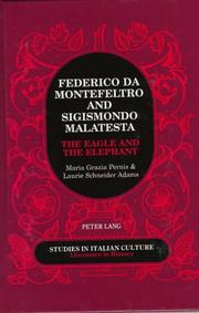 Cover of: Federico da Montefeltro & Sigismondo Malatesta