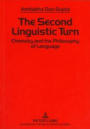 Cover of: The second linguistic turn