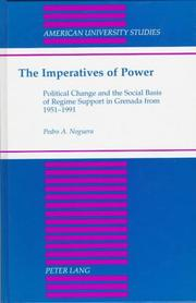 Cover of: The imperatives of power