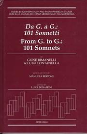 Cover of: G. a G. | Giose Rimanelli