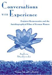 Conversations with experience by Andréa Staskowski