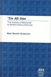 Cover of: 'Tis all one