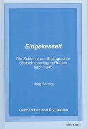 Cover of: Eingekesselt