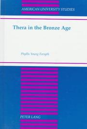 Cover of: Thera in the Bronze Age | Phyllis Young Forsyth